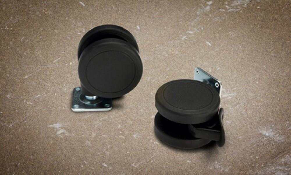 UNNU Wheels Hjul för modell 210, 211 (4pcs) - Svart
