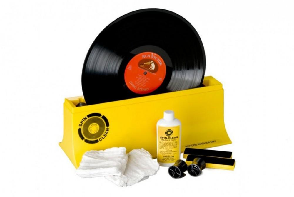 SPIN-CLEAN Record Washer MKII Standard - 1 par borstar, 2 torkdukar, 1dl vätska