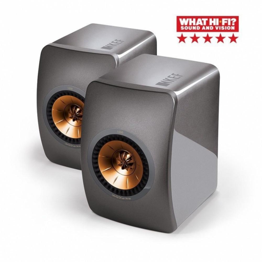 KEF LS50 Titanium Grey