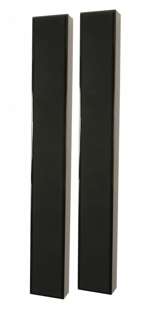 DLS Flatbox Slim XL Svart högglans