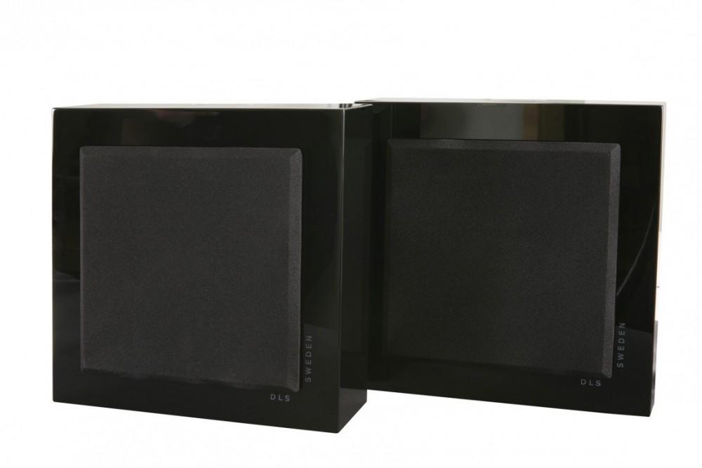 DLS Flatbox Mini Svart högglans